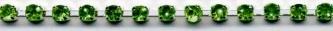 Emerald Rhinestone Trim yard(s) - Product Image