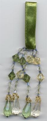 "TASSEL ""Green & Gold"" TASSEL - Product Image"
