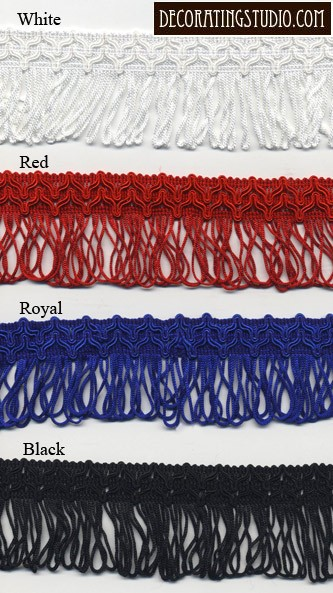 Looped Chainette Fringe Yard(s) - Product Image