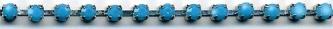 Turquoise Stone Rhinestone Trim yard(s) - Product Image