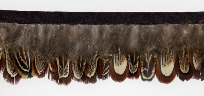 """Soft Shadow"" Feather Trim - 10 Yd Bolt - Product Image"