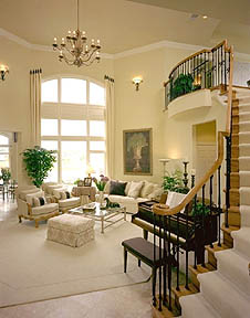 Living Room Windows on If You Have Large Elegant Windows  Don T Feel That You Have To Have