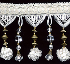 beaded home decor trim