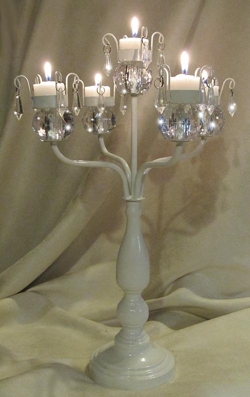 Crystal Wedding Chandelier Centerpiece