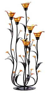 tall lilly candleholder