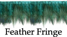 feather fringe feather trim
