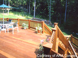 winterize the deck and yard