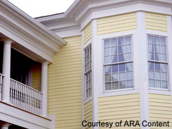 choosing homes exterior trim