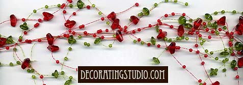 christmas party garland