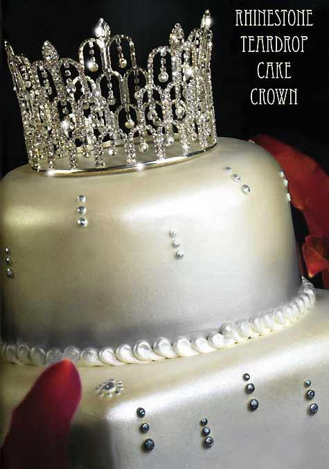 Bling Castle Cake Topper