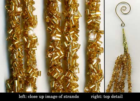 gold sequin garland