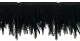 Black Feather Wings fringe
