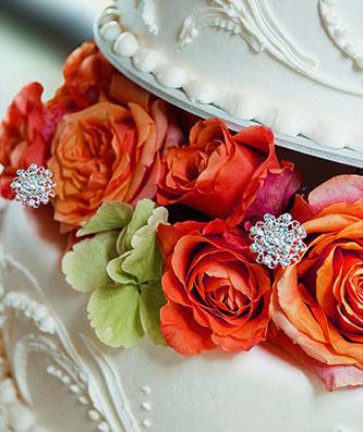 Petite Crystal Cake Jewelry Medallions - Set of 12 - Product Image