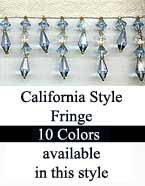 california beaded fringe