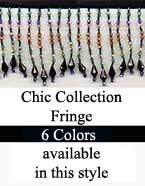 Chic beaded fringe