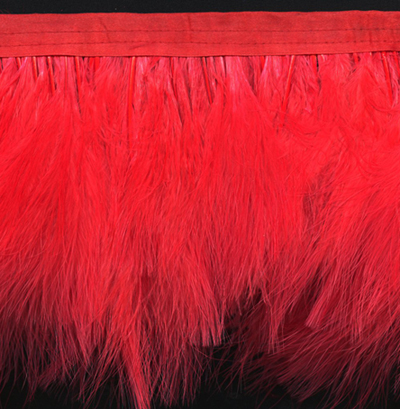 long red marabou feather fringe