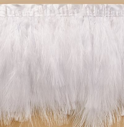 long white marabou feather fringe