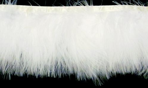 White Marabou Feather T