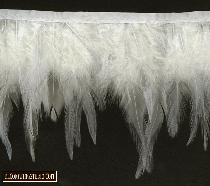 wings of an angel feather trim