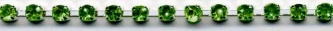 Emerald Rhinestone Trim yard(s) - Product Image