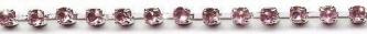 Pink Quartz Rhinestone Trim yard(s) - Product Image
