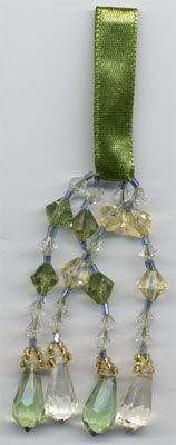 "TASSEL ""Green & Gold"" TASSEL - Product Image"