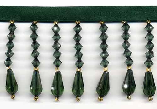 Emerald Green Decor - 10 Yard Bolt - Product Image