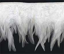 """""""Wings of an Angel"""" Feather Trim -  Sample - Product Image"""